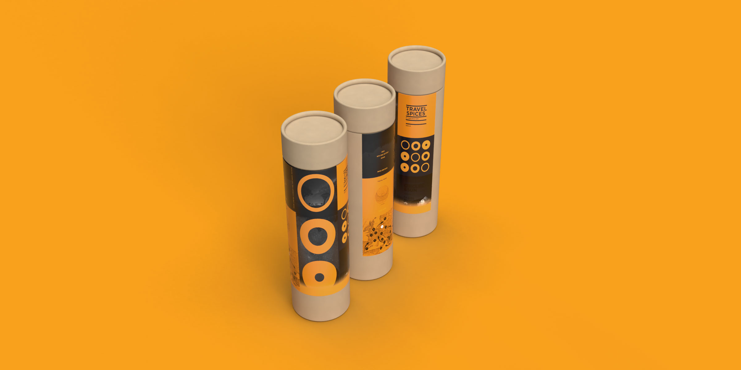 travel spice packaging design