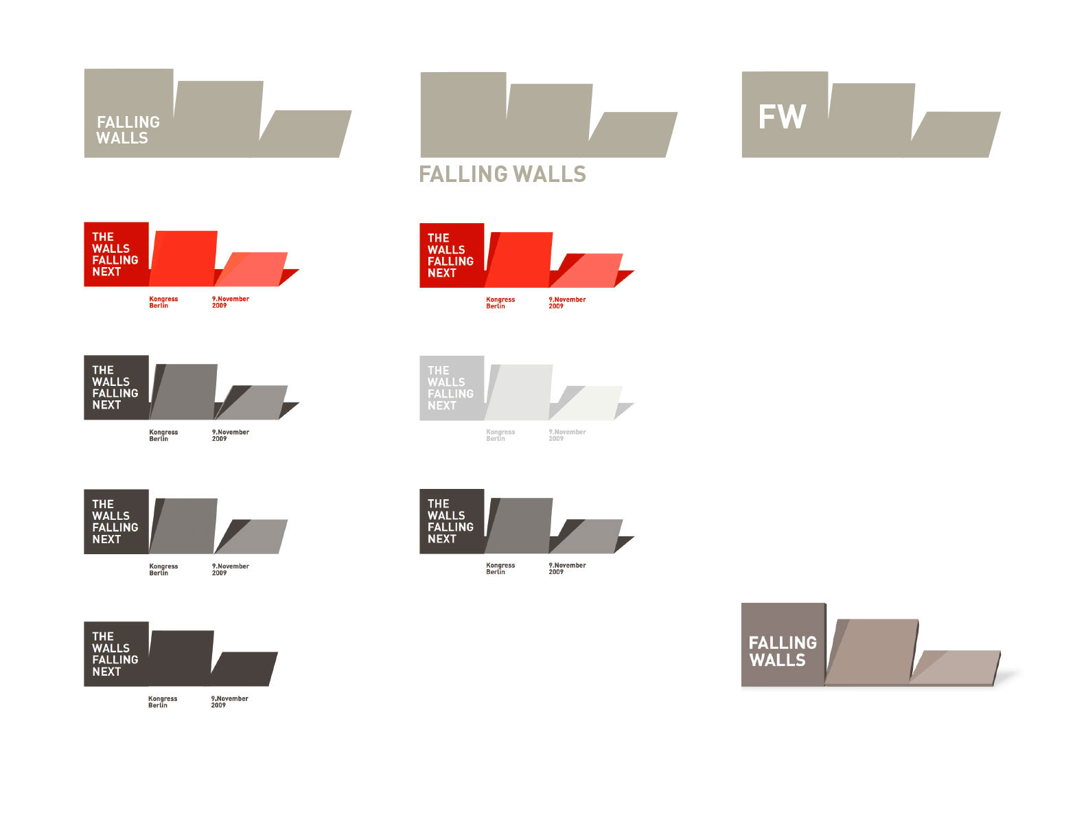 Falling Walls Conference Identity